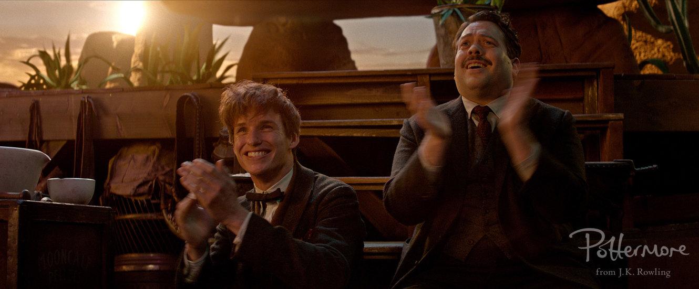 Newt e Jacob aprovaram o filme